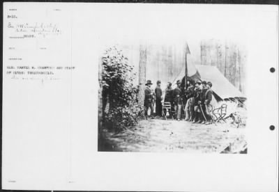 Mathew B Brady Collection of Civil War Photographs › B-10 Gen. Samuel W. Crawford and Staff of - Fold3.com