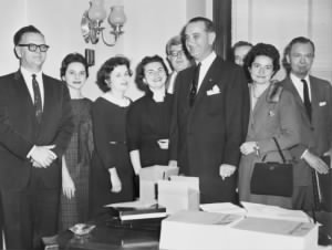 LBJ with Senate staff.jpg