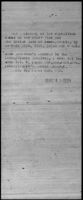 Colonel Archibald Lochry's Pennsylvania Battalion General Information Index Card Containing Reference Information Microflm roll.jpg
